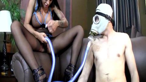 Gas Mask Milking