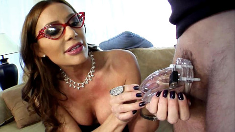 Hubby Hump My Leg In Chastity